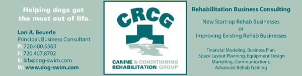 Canine Rehabilitation & Conditioning Group ad