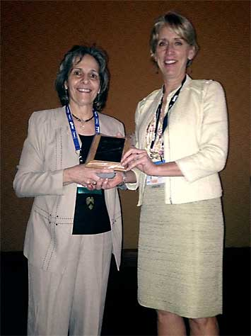 Dr. Rosemary LoGiudice and Dr. Janet Van Dyke